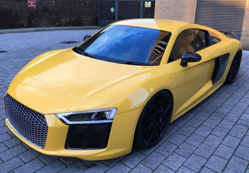 Audi R8 4S V10 Plus Tuning ADV.1 Wheels ADV.7 8