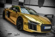 Audi R8 Gold Chrom Folierung Check Matt Dortmund Tuning 3 190x127 Neuer Audi R8 mit Gold Chrom Folierung by Check Matt Dortmund