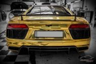 Audi R8 Gold Chrom Folierung Check Matt Dortmund Tuning 6 190x127 Neuer Audi R8 mit Gold Chrom Folierung by Check Matt Dortmund