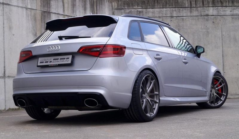 Audi RS3 8V Sportback HRE P104 Tuning cartech.ch 5