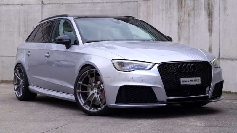Audi RS3 8V Sportback HRE P104 Tuning cartech.ch 7