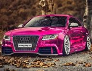 Audi RS5 Pink Folierung Wrapping Tuningblog.eu 2 1 190x146 Audi A5 RS5 Coupe mit Folierung in Pink by tuningblog.eu