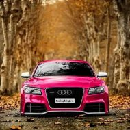 Audi RS5 Pink Folierung Wrapping Tuningblog.eu  190x190 Audi A5 RS5 Coupe mit Folierung in Pink by tuningblog.eu