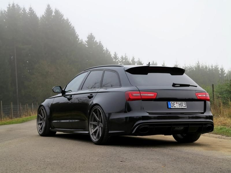 Audi RS6 C7 Avant mit ADV.1 Wheels HR Federn by tuningblog.eu  Audi RS6 C7 Avant mit ADV.1 Wheels & H&R Federn by tuningblog.eu