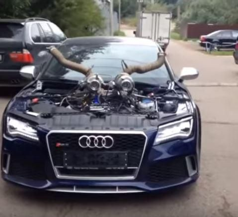 Audi RS7 Stage 10 mit 1.100PS