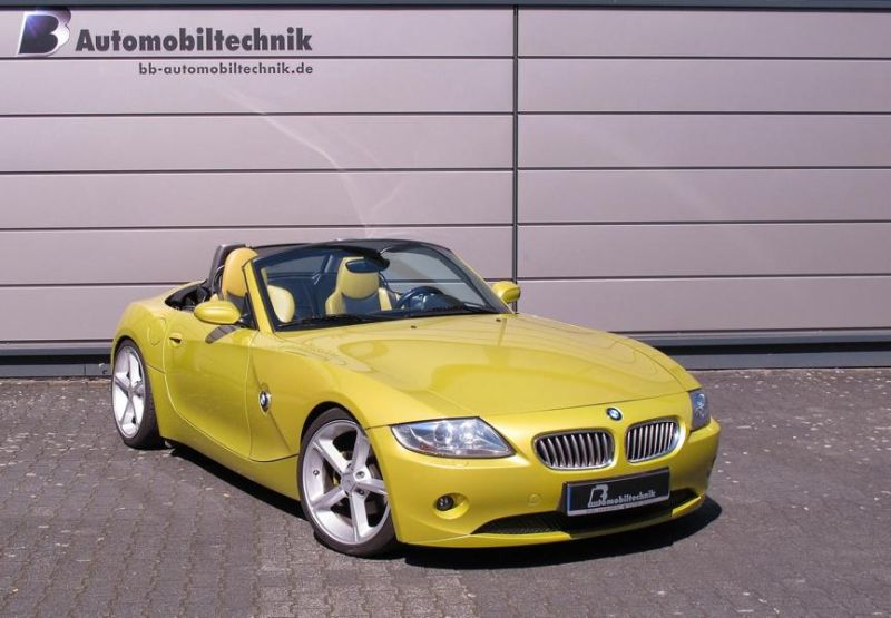 BB Automobiltechnik BMW Z4 E85 250PS 320NM Chiptuning 1 B&B Automobiltechnik BMW Z4 E85 mit 250PS & 320NM