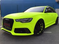 BB Folien Fluorescent Neon Folierung Audi RS6 C7 Avant Tuning 10 190x143 Fluorescent Neon Folierung am Audi RS6 C7 Avant by BB Folien