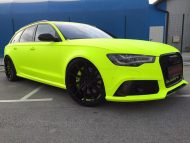 BB Folien Fluorescent Neon Folierung Audi RS6 C7 Avant Tuning 13 190x143 Fluorescent Neon Folierung am Audi RS6 C7 Avant by BB Folien