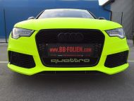 BB Folien Fluorescent Neon Folierung Audi RS6 C7 Avant Tuning 14 190x143 Fluorescent Neon Folierung am Audi RS6 C7 Avant by BB Folien