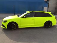 BB Folien Fluorescent Neon Folierung Audi RS6 C7 Avant Tuning 15 190x143 Fluorescent Neon Folierung am Audi RS6 C7 Avant by BB Folien