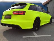 BB Folien Fluorescent Neon Folierung Audi RS6 C7 Avant Tuning 16 190x143 Fluorescent Neon Folierung am Audi RS6 C7 Avant by BB Folien