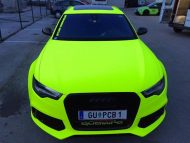 BB Folien Fluorescent Neon Folierung Audi RS6 C7 Avant Tuning 17 190x143 Fluorescent Neon Folierung am Audi RS6 C7 Avant by BB Folien