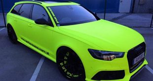 BB Folien Fluorescent Neon Folierung Audi RS6 C7 Avant Tuning 2 310x165 Extrem krass   performance cars.at Audi RS6 C7 in PINK