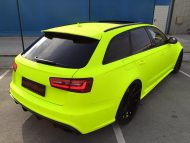 BB Folien Fluorescent Neon Folierung Audi RS6 C7 Avant Tuning 3 190x143 Fluorescent Neon Folierung am Audi RS6 C7 Avant by BB Folien