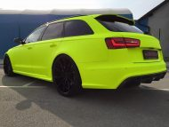 BB Folien Fluorescent Neon Folierung Audi RS6 C7 Avant Tuning 4 190x143 Fluorescent Neon Folierung am Audi RS6 C7 Avant by BB Folien