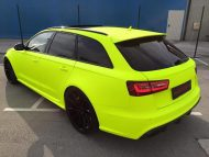 BB Folien Fluorescent Neon Folierung Audi RS6 C7 Avant Tuning 5 190x143 Fluorescent Neon Folierung am Audi RS6 C7 Avant by BB Folien