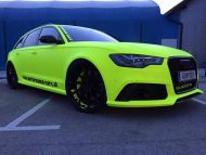BB Folien Fluorescent Neon Folierung Audi RS6 C7 Avant Tuning 8 190x143 Fluorescent Neon Folierung am Audi RS6 C7 Avant by BB Folien
