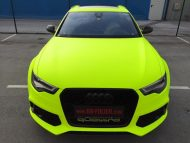 BB Folien Fluorescent Neon Folierung Audi RS6 C7 Avant Tuning 9 190x143 Fluorescent Neon Folierung am Audi RS6 C7 Avant by BB Folien