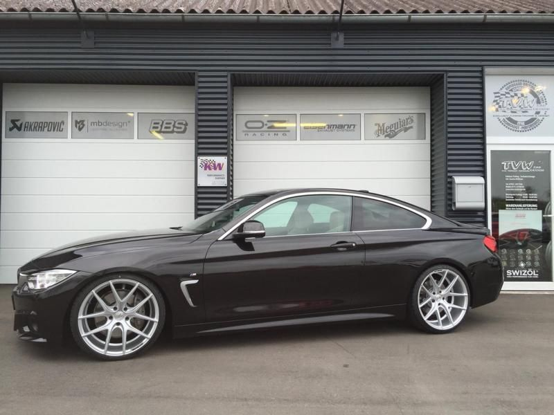Nice Bmw 435i F32 Auf 20 Zoll By Tvw Car Design