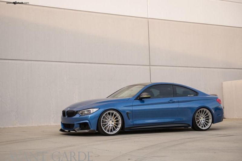BMW 435i F32 Coupe Tuning 20 Zoll Avant Garde Wheels M615 1 BMW 435i F32 Coupe auf 20 Zoll Avant Garde Wheels M615