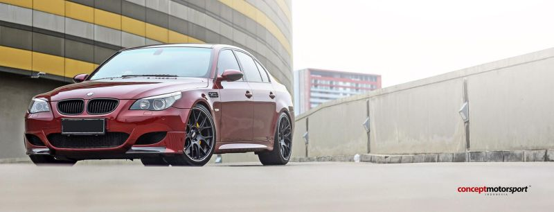 BMW E60 M5 BBS CH-R Brembo Concept Motorsport Tuning 1