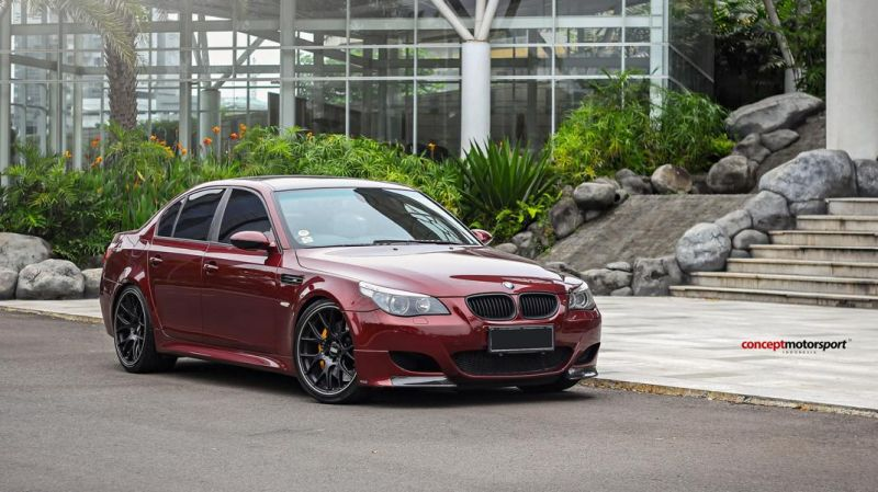 BMW E60 M5 BBS CH-R Brembo Concept Motorsport Tuning 2