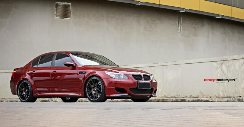 BMW E60 M5 BBS CH-R Brembo Concept Motorsport Tuning 5