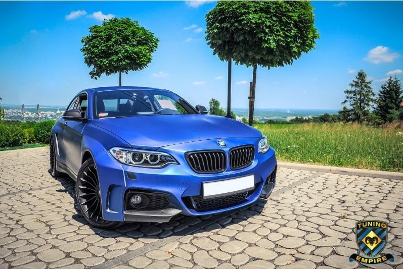 BMW F22 2er Coupe Widebody Kit Tuning Empire Alpina 3 BMW F22 2er Coupe mit Widebody Kit von Tuning Empire