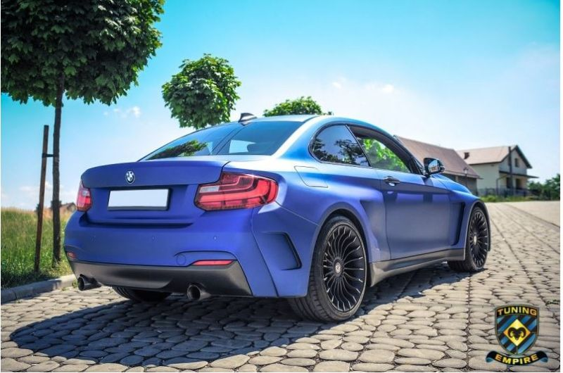 BMW F22 2er Coupe Widebody Kit Tuning Empire Alpina 4 BMW F22 2er Coupe mit Widebody Kit von Tuning Empire