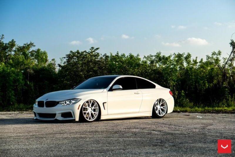 BMW F32 435i VOSSEN Wheels 20 Zoll VFS 6 Tuning 1 Brutal mega tiefer BMW F32 435i auf VOSSEN VFS 6 Alu's