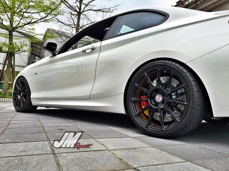 BMW M235i Coupe HRE P43SC JM Sport Taiwan Tuning 2 BMW M235i Coupe auf HRE P43SC von JM Sport (Taiwan)
