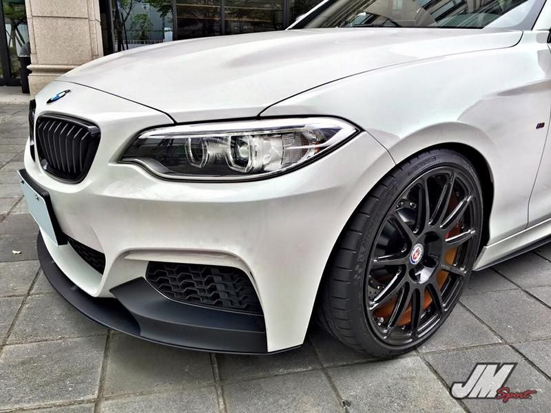 BMW M235i Coupe HRE P43SC JM Sport Taiwan Tuning 3 BMW M235i Coupe auf HRE P43SC von JM Sport (Taiwan)