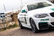 BMW M235i Dubai Polizeistyle Folierung Holland Tuning VDE 6 190x127 Fotostory: BMW M235i mit Dubai Polizeistyle in Holland
