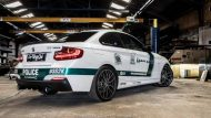 BMW M235i Dubai Polizeistyle Folierung Holland Tuning VDE 9 190x107 Fotostory: BMW M235i mit Dubai Polizeistyle in Holland