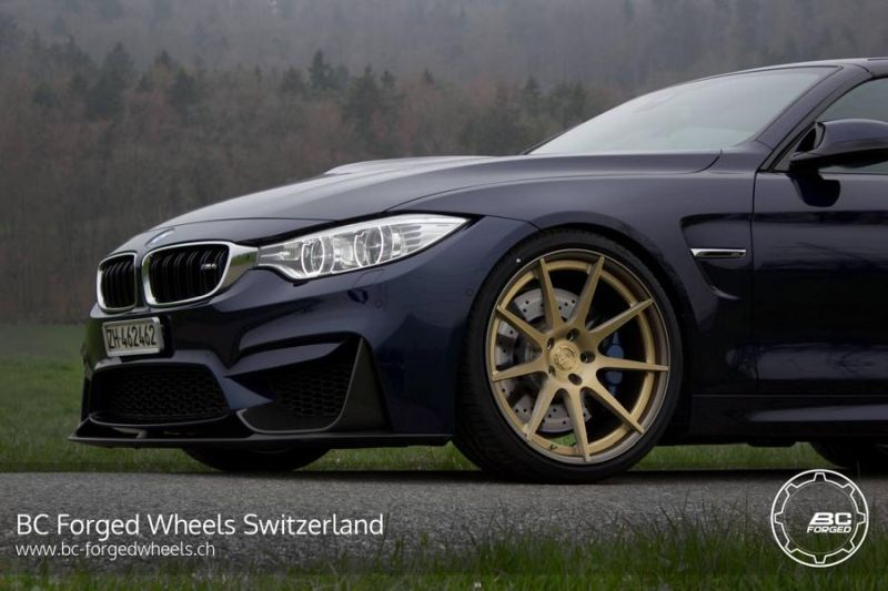 BMW M4 Cabrio F83 20 Zoll BC Forged Wheels HB29 Tuning 1 BMW M4 Cabrio F83 auf 20 Zoll BC Forged Wheels HB29