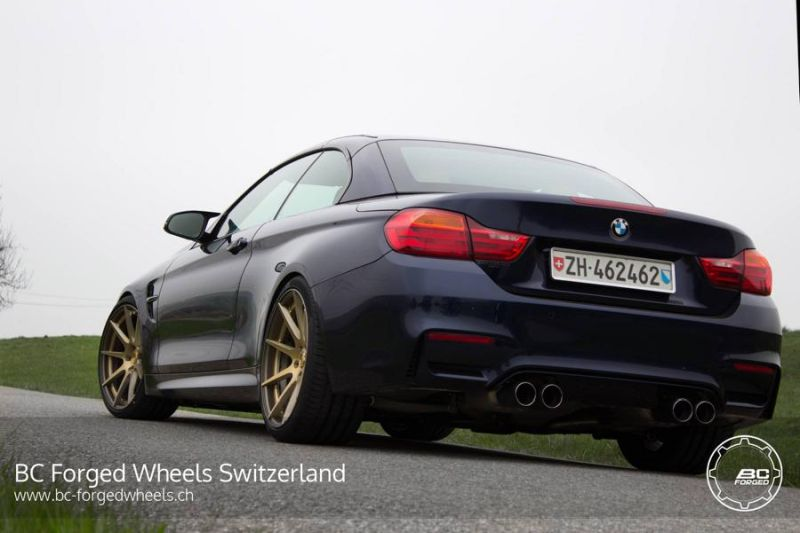 BMW M4 Cabrio F83 20 Zoll BC Forged Wheels HB29 Tuning 5 BMW M4 Cabrio F83 auf 20 Zoll BC Forged Wheels HB29