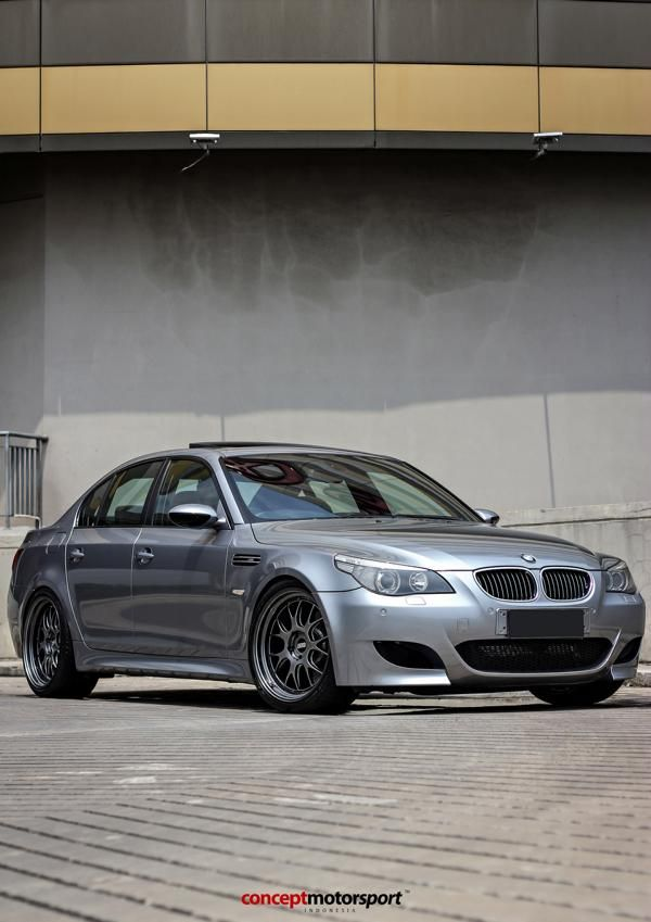 BMW M5 E60 V10 20 Zoll BBS LM R Tuning Concept Motorsport 3 BMW M5 E60 V10 auf 20 Zoll BBS LM R Alu's by Concept Motorsport