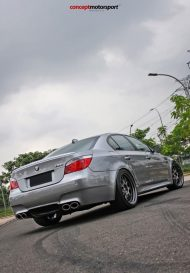 BMW M5 E60 V10 20 Zoll BBS LM R Tuning Concept Motorsport 5 190x273 BMW M5 E60 V10 auf 20 Zoll BBS LM R Alu's by Concept Motorsport