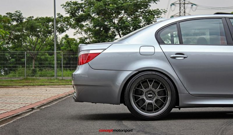 BMW M5 E60 V10 20 Zoll BBS LM-R Tuning Concept Motorsport 9
