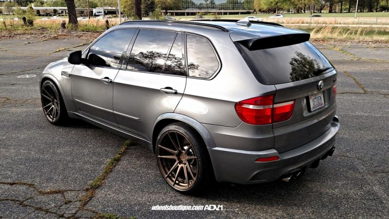 BMW X5M E70 ADV5.2 MV.2 Alu's Tuning Wheelsboutique 2
