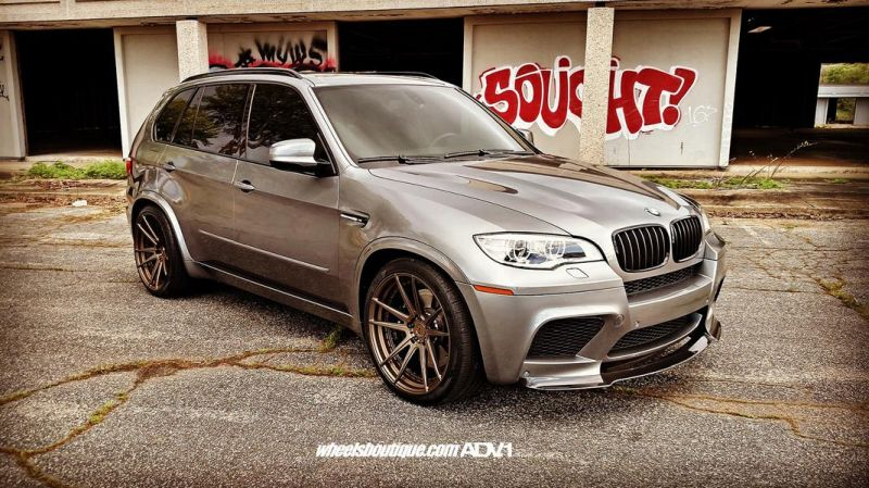 BMW X5M E70 ADV5.2 MV.2 Alu's Tuning Wheelsboutique 3
