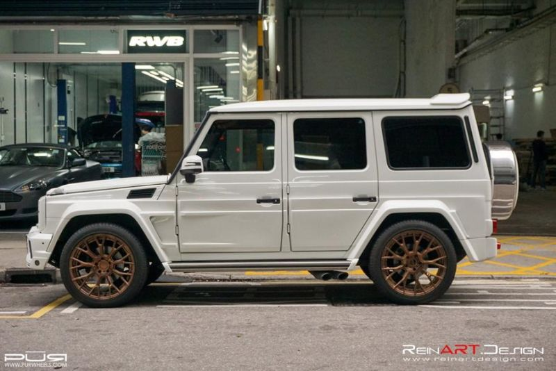 BRABUS Mercedes G55 AMG Wide Body RS02.M2 PUR Tuning 4