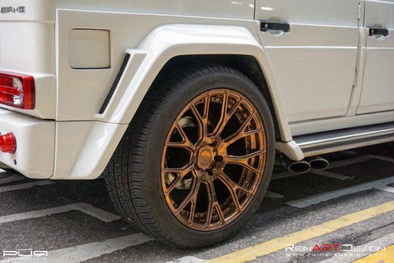 BRABUS Mercedes G55 AMG Wide Body RS02.M2 PUR Tuning 5 BRABUS Mercedes G55 AMG Wide Body auf RS02.M2 PUR Alu's