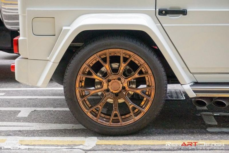 BRABUS Mercedes G55 AMG Wide Body RS02.M2 PUR Tuning 6 BRABUS Mercedes G55 AMG Wide Body auf RS02.M2 PUR Alu's