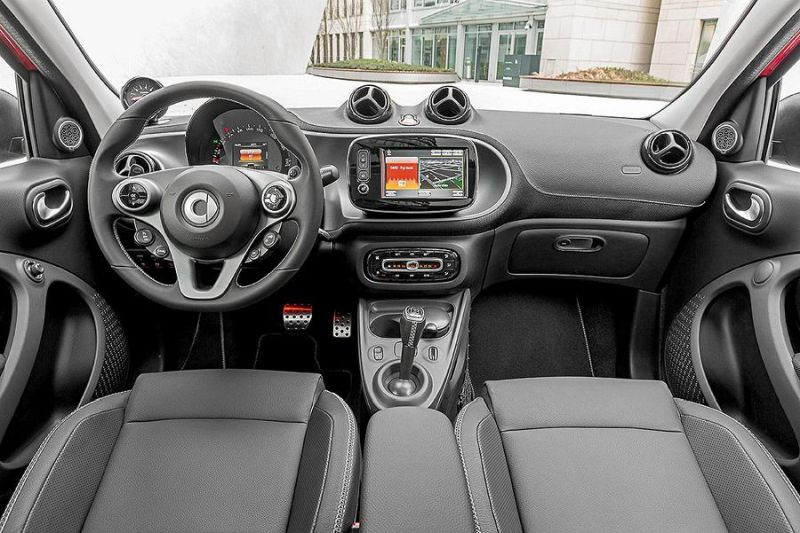 "Brabus Smart 2016 fortwo forfour Tuning 109PS 11 Neidfaktor GmbH Brabus Smart ""The Green Spark Project"""