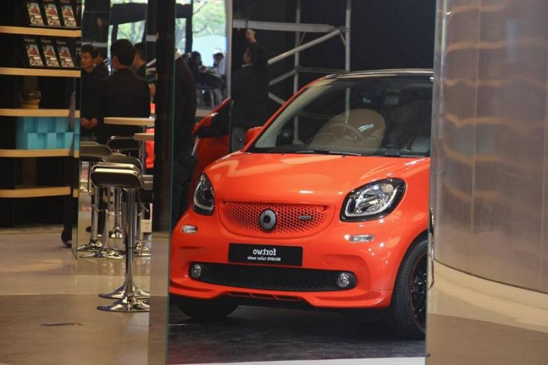 Brabus Smart 2016 fortwo & forfour Tuning 109PS 15