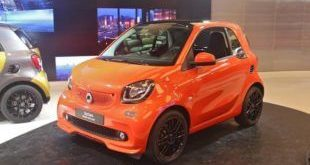 Brabus Smart 2016 fortwo forfour Tuning 109PS 17 1 e1461572281565 310x165 Ab Werk   Brabus Smart fortwo & forfour mit 109PS