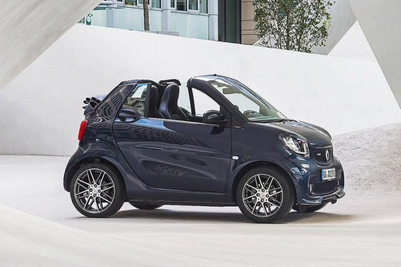 smart fortwo forfour mit sportfahrwerk und frontspoiler. Black Bedroom Furniture Sets. Home Design Ideas