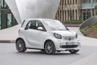 Brabus Smart 2016 fortwo forfour Tuning 109PS 4 190x127 Ab Werk   Brabus Smart fortwo & forfour mit 109PS