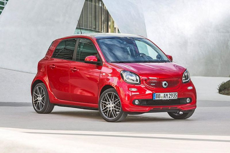 Brabus Smart 2016 fortwo & forfour Tuning 109PS 8